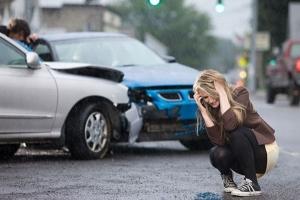 Auto ongeluk Rotterdam